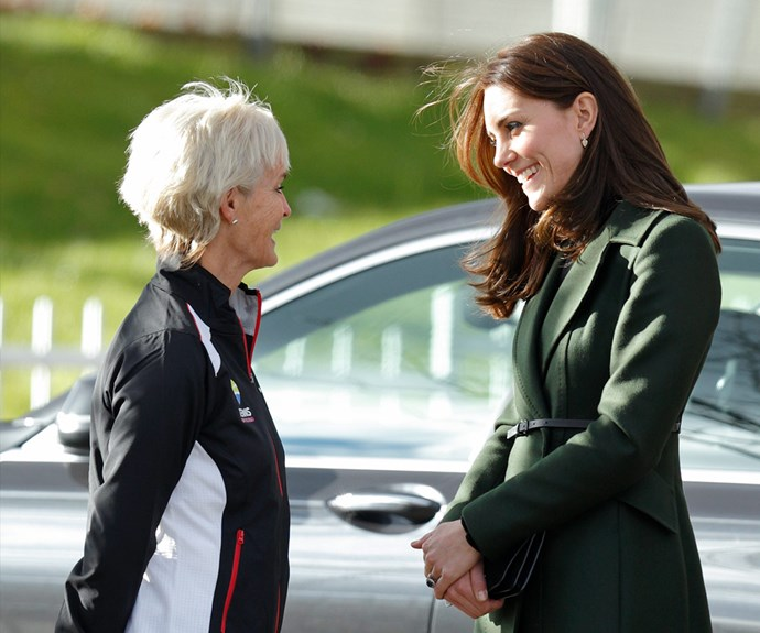 Judy Murray Duchess Catherine