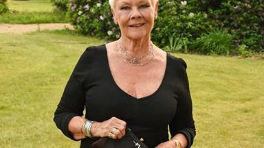 Dame Judi Dench gets her first tattoo at 81
