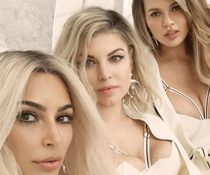 Kim Kardashian, Fergie, Chrissy Teigen