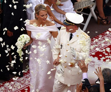 Prince Albert & Princess Charlene celebrate fifth anniversary