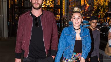 Welcome to the family! Miley Cyrus and Liam Hemsworth adopt a new puppy