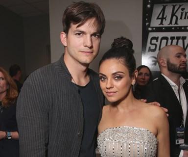 Ashton Kutcher and Mila Kunis date night