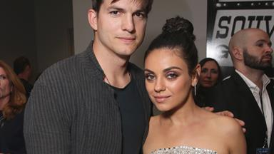Ashton Kutcher and Mila Kunis date night
