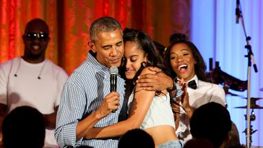 Barack Obama serenades his daughter Malia for her birthday