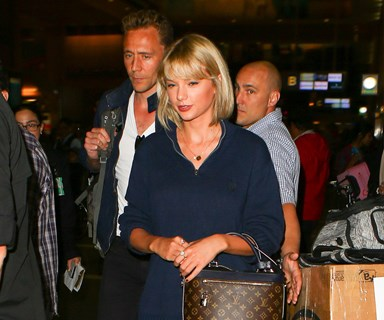 Taylor Swift and Tom Hiddleston have arrived in Sydney!