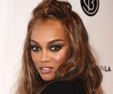 "Tyra Banks says being a new mum to son York is ""heaven"""