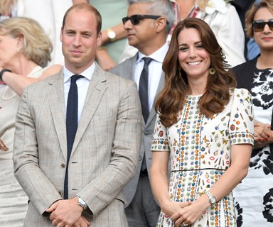 Duchess Catherine, Beyonce, David Beckham and more stars at Wimbledon 2016