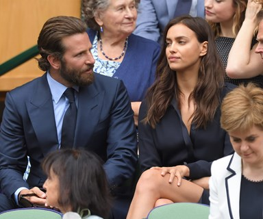 Bradley Cooper and Irina Shayk have a very tense standoff at Wimbledon