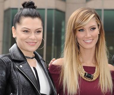 Jessie J and Delta Goodrem mend the rift