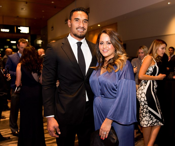 All Black veteran **Jerome Kaino** and his wife **Di** have three children together - eight-year-old daughter Milan, five-year-old son Kobe and one-year-old son Grayson.