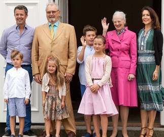 Princess Josephine Prince Frederik, Prince Vincent Princess Mary Princess Isabella Prince Christian Queen Margrethe