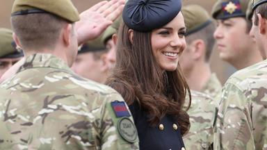 Duchess Catherine, Prince William and Prince George honour SAS heroes
