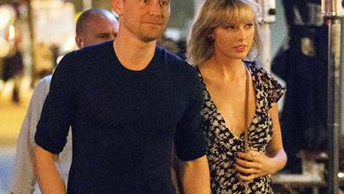 Taylor Swift and Tom Hiddleston book out movie theatre with Chris Hemsworth