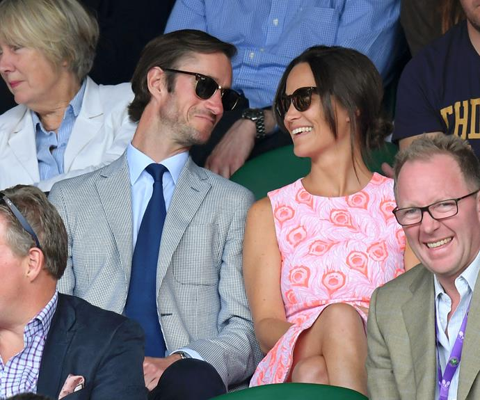 The couple looked totally loved-up as they attended the Wimbledon championship tournament this year. Photo: Getty