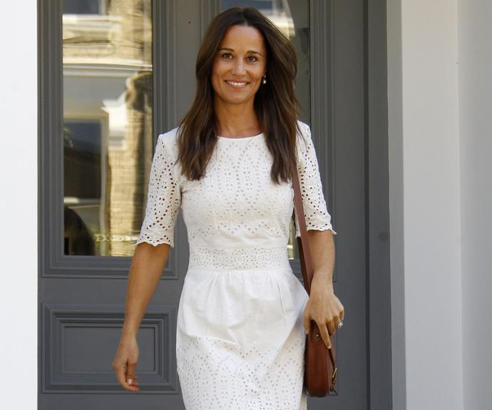 Pippa stepped out in London on Tuesday looking glowing - and flashing a glimpse of that gorgeous ring!