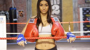 Naz is stepping back into the boxing ring