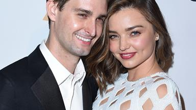 Miranda Kerr and Evan Spiegel are engaged