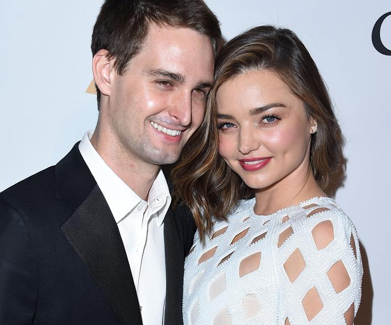 Miranda Kerr engaged to Snapchat founder Evan Spiegel