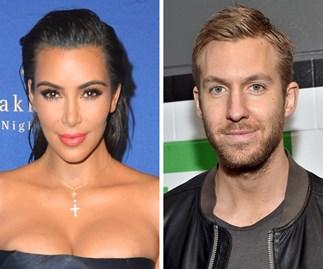 Kim Kardashian Calvin Harris
