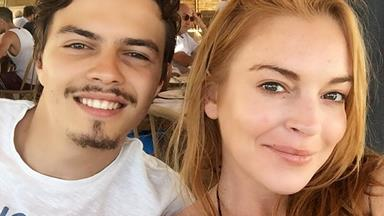 Lindsay Lohan accuses fiancé of cheating, hints at pregnancy