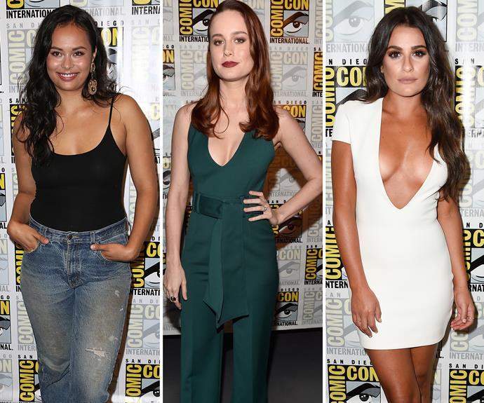 Frankie Adams, Brie Larson, Lea Michele, Comic-Con 2016