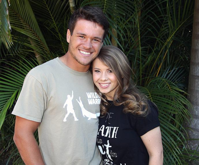 Bindi Irwin and Chandler Powell