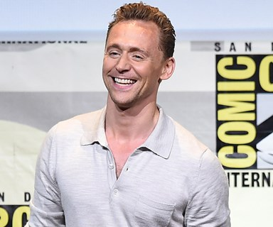 Tom Hiddleston's bottom has been bestowed with the Rear of the Year award