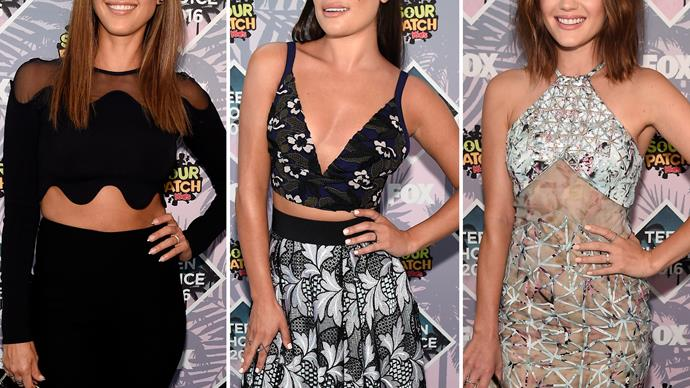 Jessica Alba, John Stamos and more stars at the Teen Choice Awards 2016