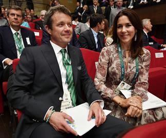 Princess Mary and Prince Frederik