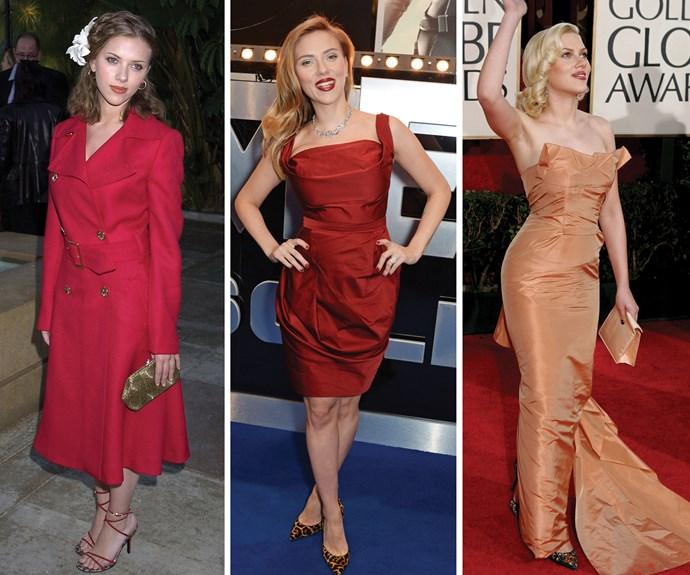 Through the years: The beauty evolution of Scarlett Johansson