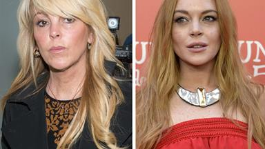Lindsay Lohan's mum Dina says she lied about being pregnant