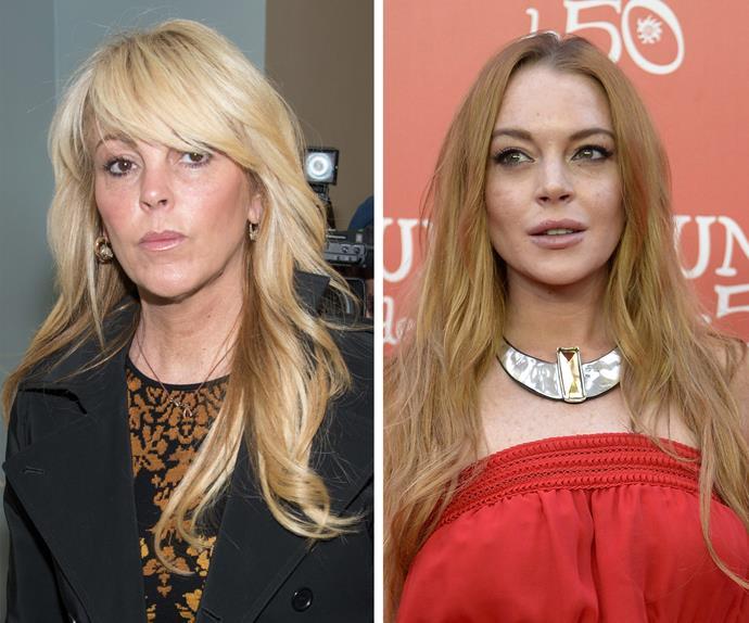 Dina Lohan Lindsay Lohan