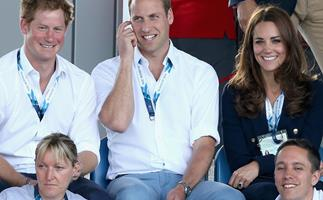 Prince Harry Prince William Duchess Catherine