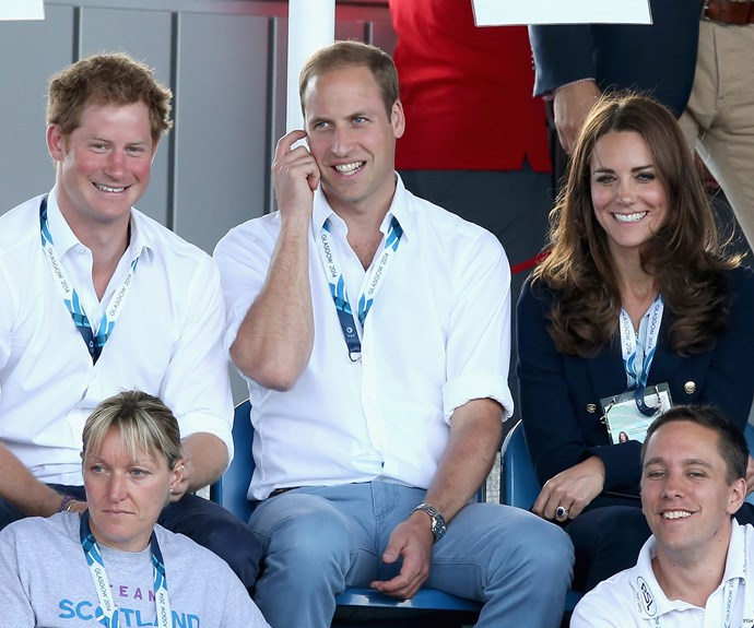 Prince Harry Prince William Duchess Catherine
