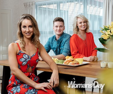 Behind the scenes with famous flatmates Gab Davenport, Steve Broad and Carolyn Taylor