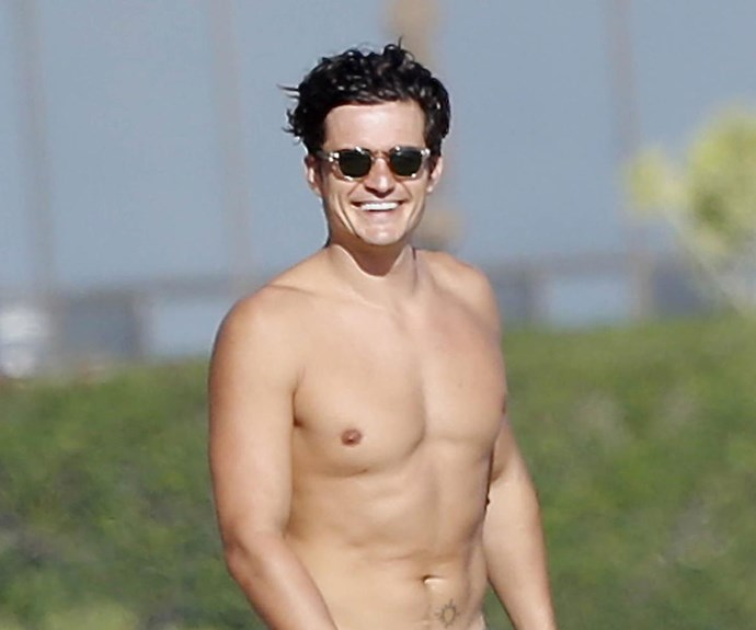 Nude pictures of Orlando Bloom break the Internet