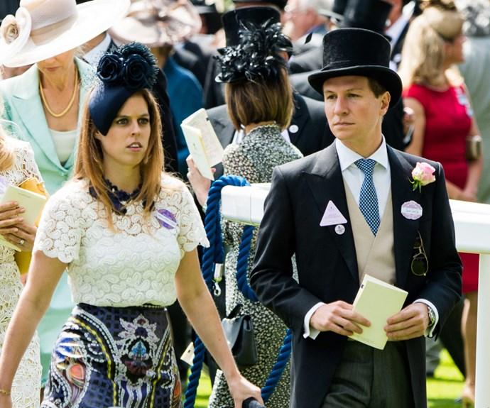 Princess Beatrice Dave Clark