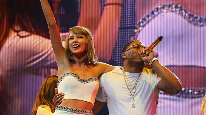 Taylor Swift and Nelly