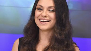 Mila Kunis keeps her engagement ring from Ashton Kutcher locked up