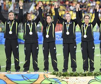 NZ rugby sevens women