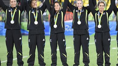 NZ women's sevens team take silver against Australia