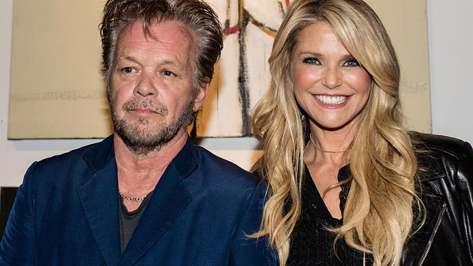 Christie Brinkley and John Mellencamp