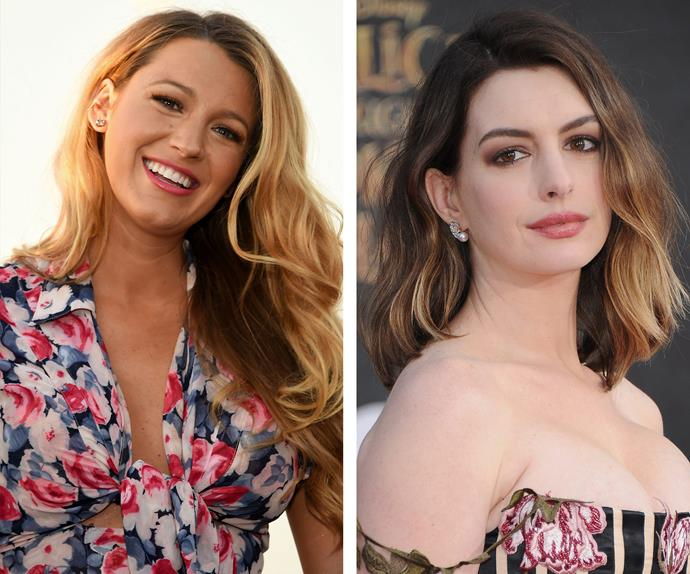 Blake Lively and Anne Hathaway