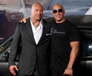 The Rock, Vin Diesel