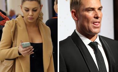 Shane Warne's secret texts to Bachelor beauty Kiki Morris