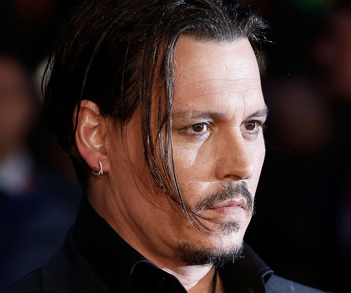Johnny Depp reportedly switches between 'Mr. Drip Noodle', 'Mr. Oddpong' and 'Mr. Stench'. We have no answers.