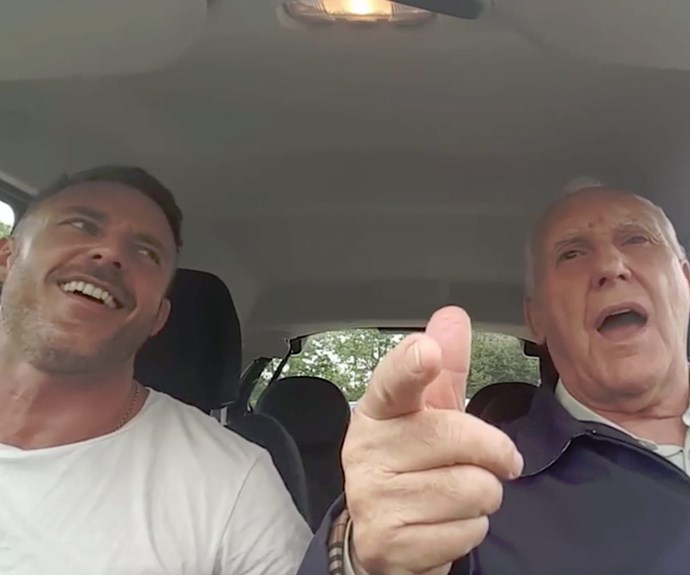 Our new favourite carpool karaoke with son and his Alzheimer's dad