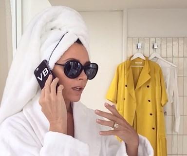 Victoria Beckham shares her 5 minute makeover