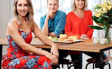 We're flatties and family: Gab Davenport, Steve Broad & Carolyn Taylor