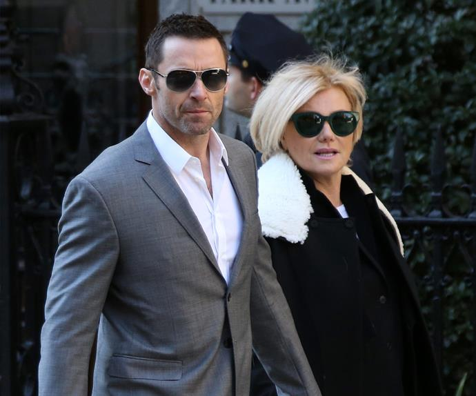 Hugh Jackman Deborra-Lee Furness